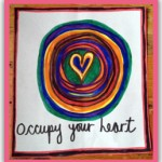 Occupy your Heart Sticker